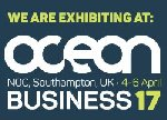 Exhibiting @OCEAN Business2017  -- South Hampton