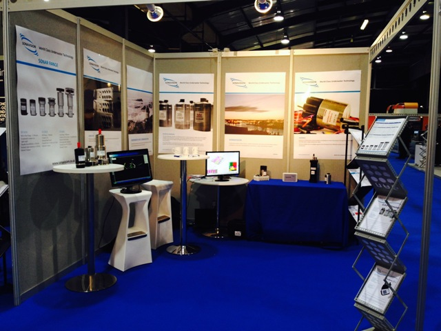 Sonavision @ SUBSEA UK 2014 Exhibition